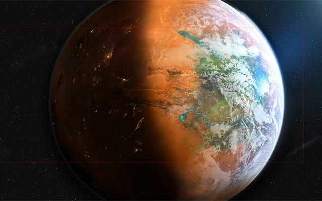 新しい火星ゲームは都市ビルダーではなく、惑星ビルダーです