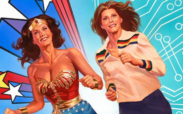 Чудо-женщина '77 и Бионическая женщина объединились для создания классного нового комикса