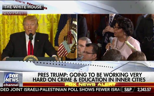 Tôi thậm chí không biết nói gì về cuộc họp báo của Donald Trump