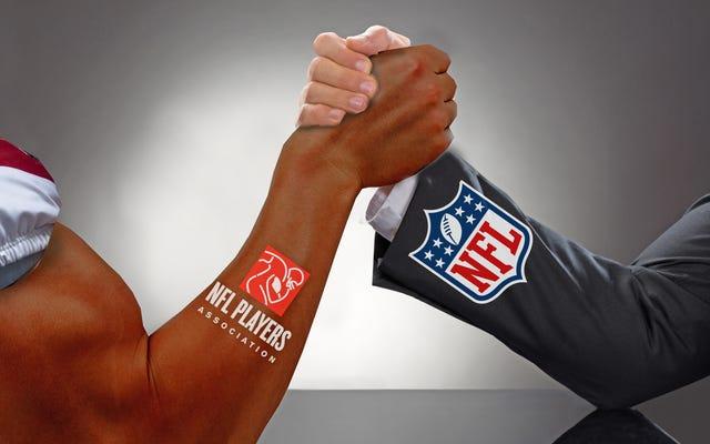 NFLとNFLPAがミニキャンプの対決に向かった