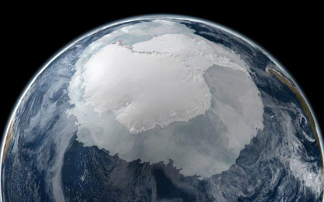 Lód na Morzu Antarktycznym ponownie znajduje się na rekordowo niskim terytorium i nikt nie wie dlaczego