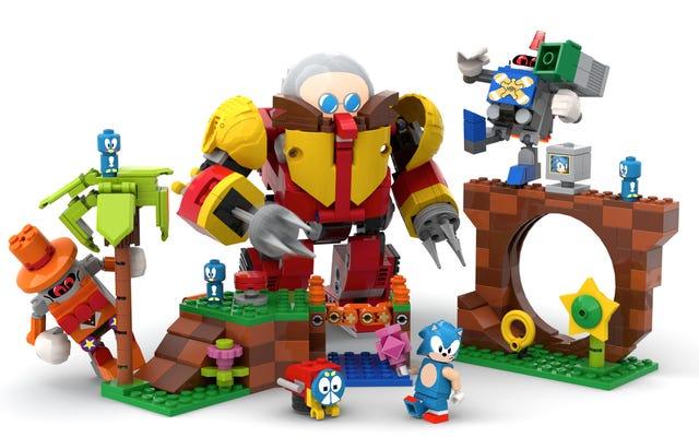 レゴはこの優れたソニックマニアセットを作ることを検討しています