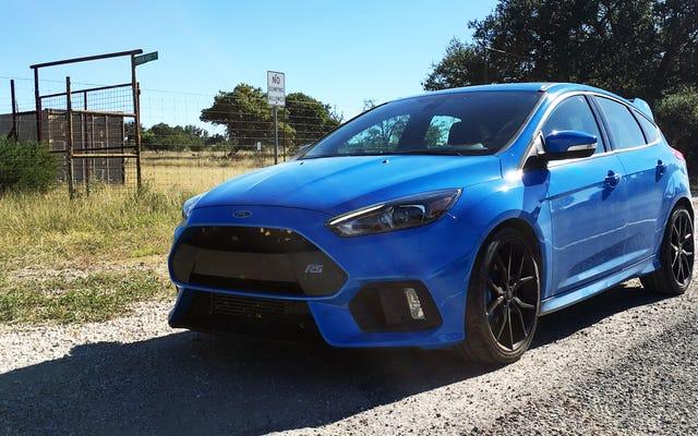La Ford Focus RS è l'auto M più economica che puoi acquistare nuova