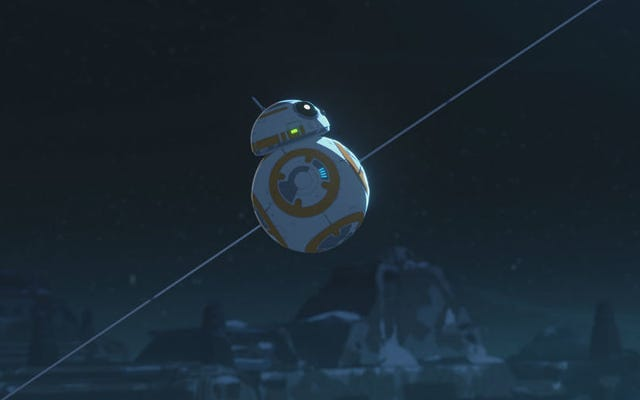 Con l'avvicinarsi della timeline di The Force Awakens, le cose si stanno surriscaldando sulla resistenza di Star Wars