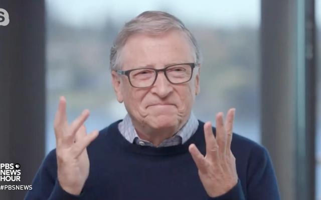 Beobachten Sie, wie sich Bill Gates sehr unwohl fühlt, wenn er nach Jeffrey Epstein gefragt wird