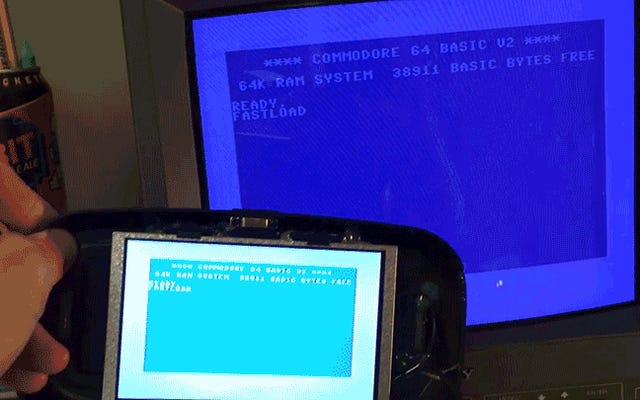 Вы должны быть безнадежно преданы антикварным компьютерам, чтобы построить установку Commodore 64 VR
