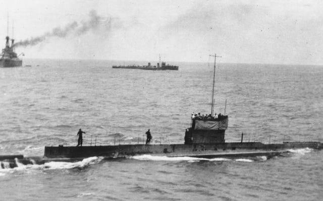 第一次世界大戦で沈没したオーストラリアの潜水艦が103年後にようやく発見されました
