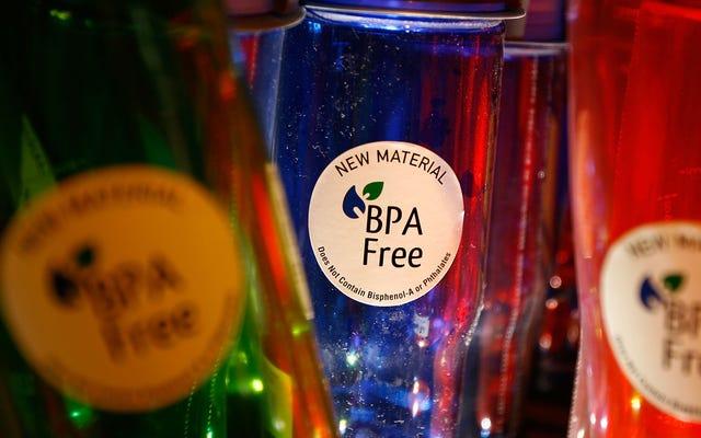 研究によると、BPAフリーのプラスチックは健康に害を及ぼす可能性があります