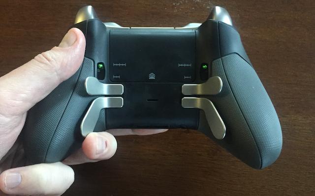 Tôi khá vào các nút này dưới bộ điều khiển trò chơi của tôi