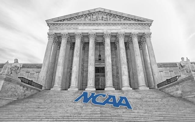 Même la Cour suprême peut voir à travers le BS de la NCAA