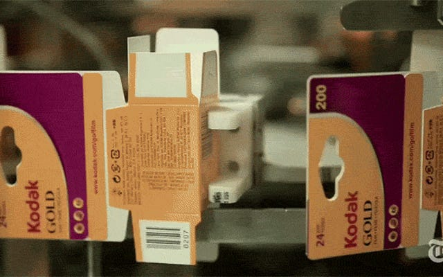 Wie Kodak jetzt überlebt, wo der Film tot ist