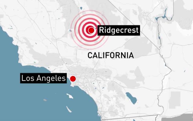 カリフォルニアの地震で車がジャックから落ちた後、ジープで働いていた男性が死亡した:警察