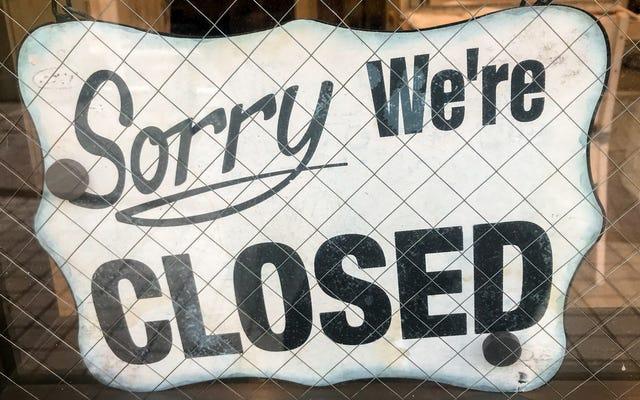 Yelp รายงานตัวเลขที่น่ากลัวเกี่ยวกับการปิดร้านอาหาร