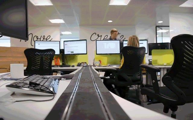 В каждом офисе должны быть игровые автоматы, мчащиеся по всем столам