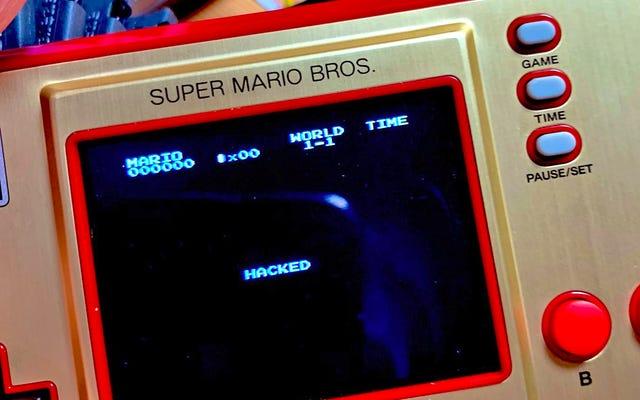 เกมและนาฬิกาใหม่ของ Nintendo ถูกแฮ็กหนึ่งวันก่อนวางจำหน่ายอย่างเป็นทางการ