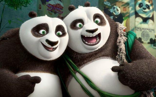 «Trouvez-vous», dit le film Kung Fu Panda qui ressemble aux deux autres
