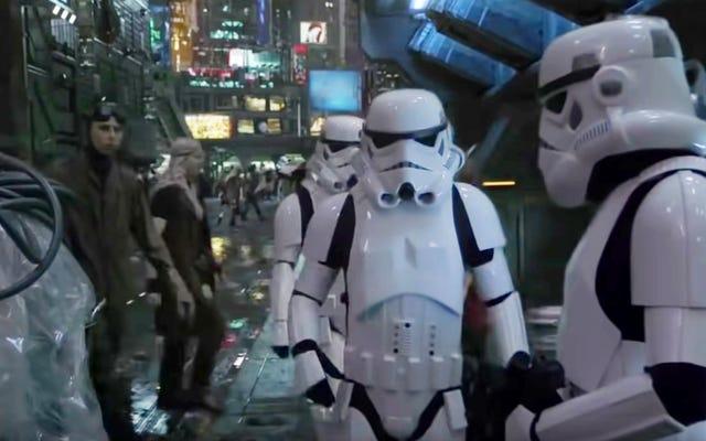 Voici la vraie affaire avec cette vidéo Star Wars qui fuit