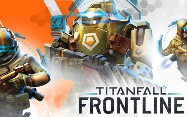 Titanfallモバイルゲームは本当に生きる前に死ぬ