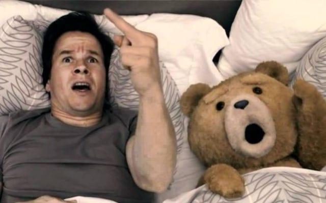 Mark Wahlberg poprosił papieża Franciszka o wybaczenie mu grzechów mówiącego niedźwiedzia