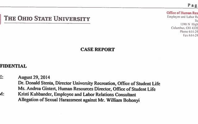 オハイオ州立大学の報告:性的虐待のティーンで告発されたダイビングコーチはそれがただいちゃつくと言った