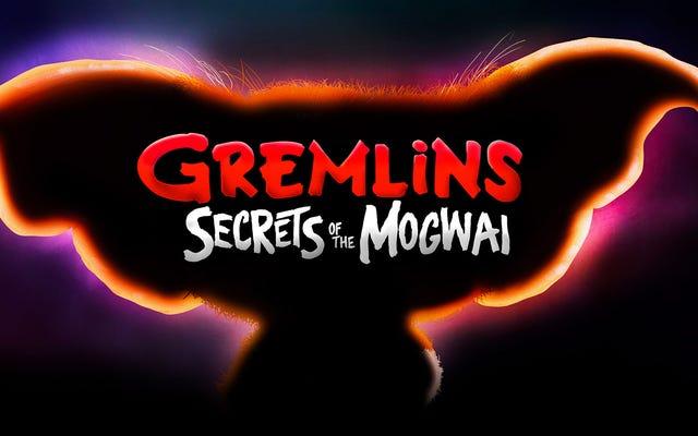 そのアニメーションのグレムリンのテレビ番組は公式に起こっています