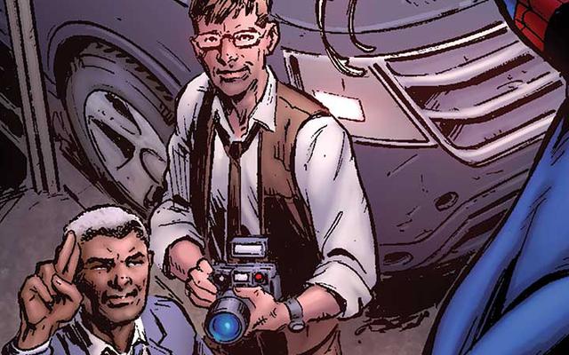デイリービューグルは、独自のコミックブックで主要なスクープを探しています