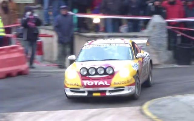 Los Porsche del Rally de Montecarlo