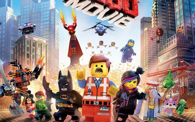 La bande originale du film Lego sortira en double LP