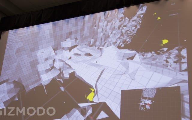 ゲームはGoogleの3DセンシングTangoタブレットが現実になるのに役立つ可能性があります
