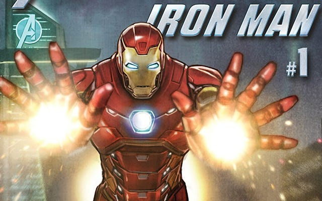 Le jeu Avengers a une bande dessinée liée à la façon dont les problèmes de l'équipe ont commencé