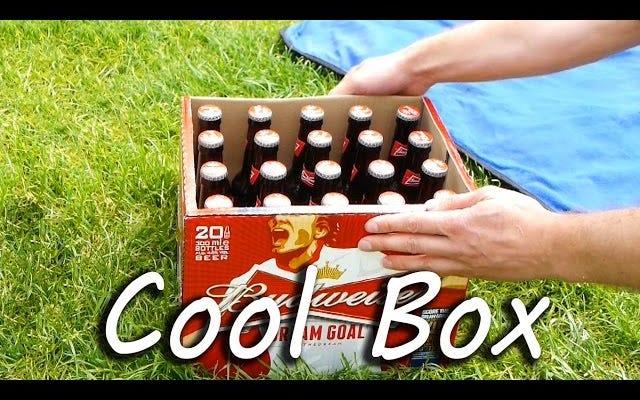 ビールのすべてのケースを自己完結型のアイスチェストに変更します