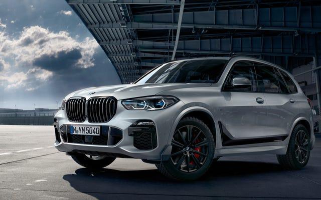 BMW, 2019 X5'inizi Daha Sportif Hale Getirmek İçin Takabileceğiniz Bazı Karbon Fiber Uçlar Satıyor