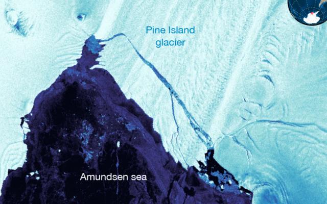 अंटार्कटिका में मैनहट्टन के आकार का चार गुना आकार का एक दूसरा हिमखंड जारी किया गया है