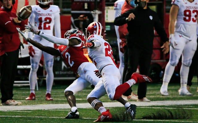 Les Rutgers se dirigent vers, eh bien, une énorme perte après le rappel d'un `` touché '' fou