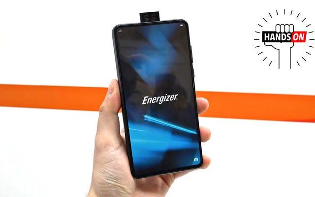 Điện thoại Extra Juicy của Energizer dày câm