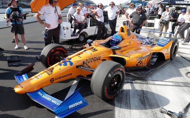 フェルナンドアロンソとマクラーレンはインディ500に出場できませんでした