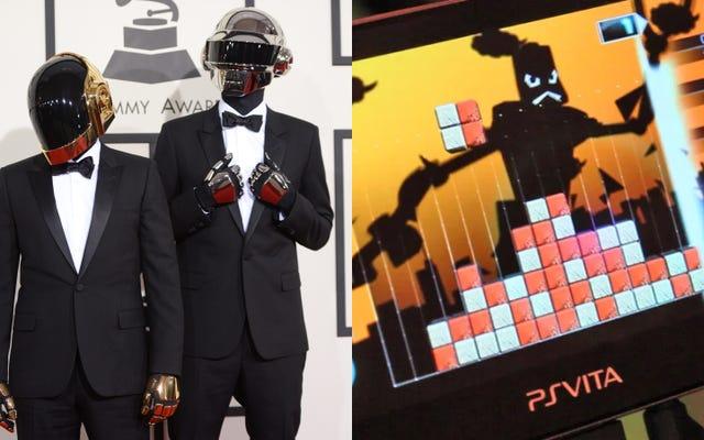 Lumines: Electronic Symphony Gần như là Daft Punk Lumines