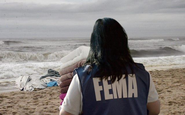 米国は東海岸をタオルで撫でることで海面上昇に対応