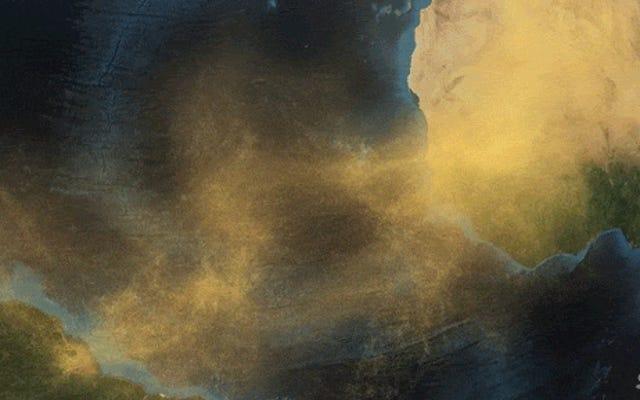 अद्भुत वीडियो में दिखाया गया है कि सहारा रेगिस्तान से ब्राजील तक धूल कैसे चलती है