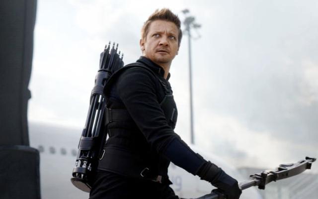 Un hommage à Hawkeye, un personnage qui est définitivement dans Avengers: guerre à l'infini à un moment donné