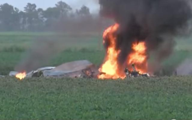 Un avion du Corps des Marines américain s'écrase au Mississippi, faisant 16 morts