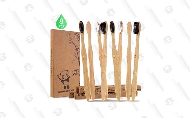 Những chiếc bàn chải đánh răng bằng tre này có giá $ 5 và hoàn toàn có thể phân hủy sinh học