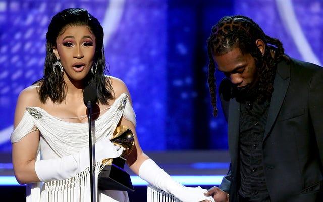 Cardi B là người phụ nữ solo đầu tiên giành giải Grammy cho Album Rap xuất sắc nhất [Đã cập nhật]