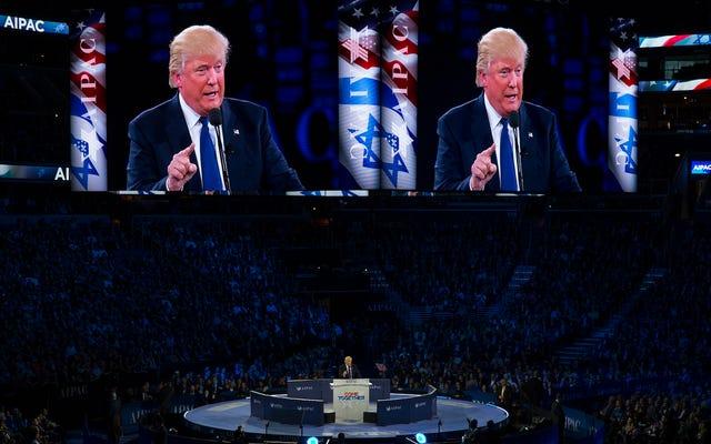 Trump zdejmuje ze swojego prawicowego prawnika wspierającego upadłość w Izraelu, ambasador