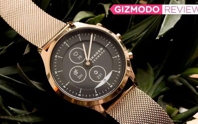 Skagen Jorn là một lời nhắc nhở rằng những chiếc đồng hồ thông minh thời trang, đơn giản vẫn tuyệt vời