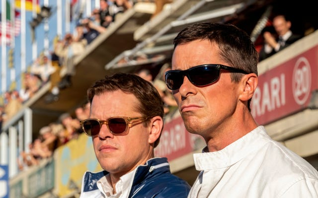 マットデイモンとクリスチャンベールは、面白いフォードVフェラーリでお父さんのために1つを獲得します