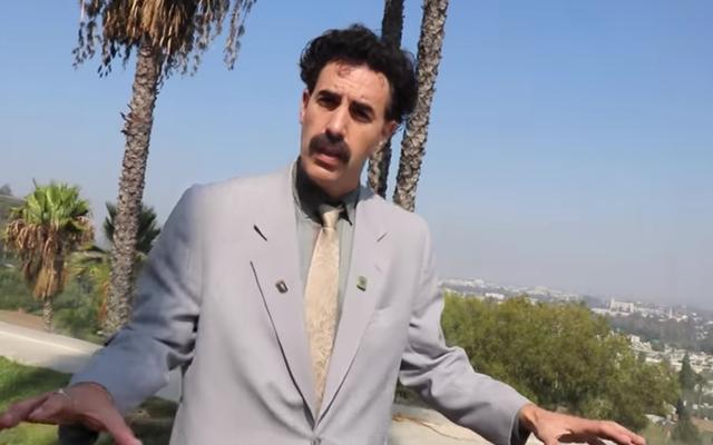 BoratはZ世代のYouTubeインフルエンサーと出会い、それについて非常にBoratです