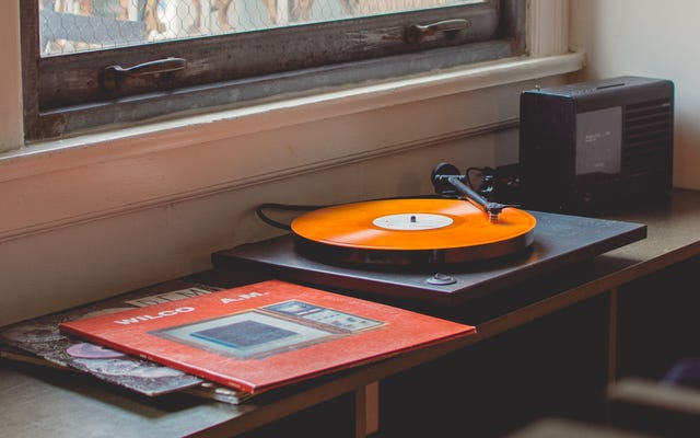 Usa un panno asciutto per spolverare i tuoi dischi