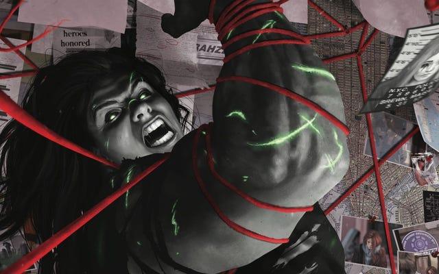 Jen wpada w szał w tym rewelacyjnym She-Hulk ekskluzywnym numerze 160