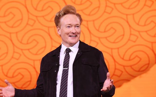 Conan 30 Mart'ta TV'ye geri dönüyor